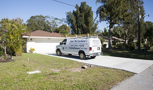Air Conditioning Service Truck Sarasota Fl at residence